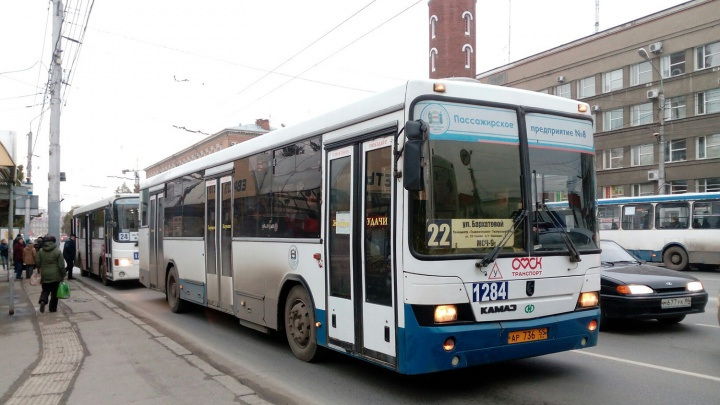 В Омске четыре автобуса изменят свой маршрут
