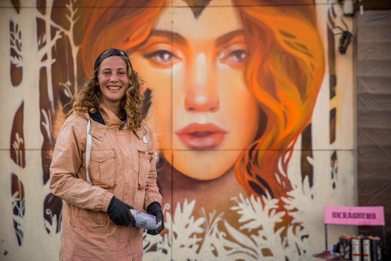 Марина Ягода по образованию художник-монументалист