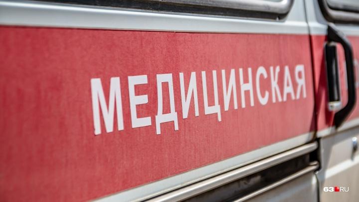 Житель Тольятти с 2-летним малышом на велосипеде попал под колеса «Лады Приоры»