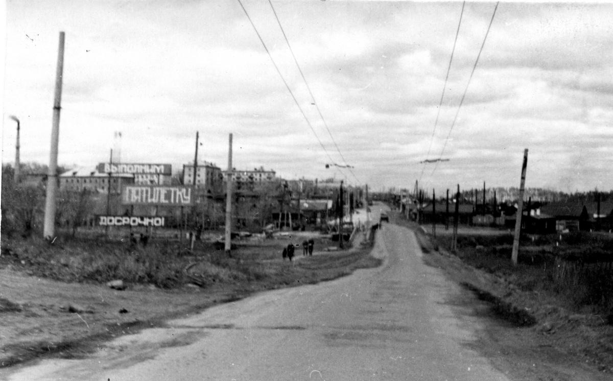 Щербакова от Патрушихи в направлении Белинского