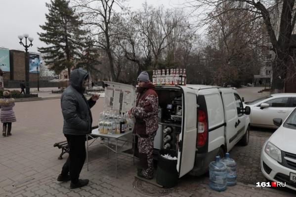 Мобильные кофейни в Ростове сейчас вне закона