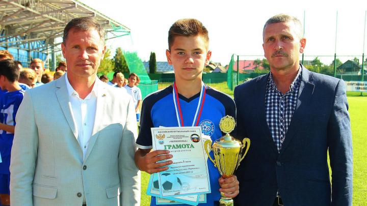 Волгоградец из академии «Ротора» попал в сборную России по футболу