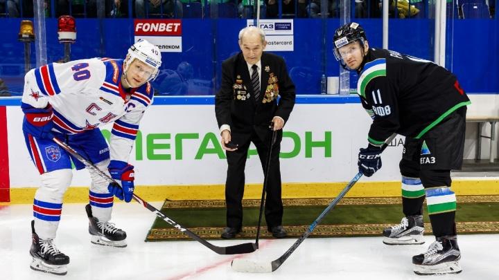 Хет-трик Сошникова не спас «Салават Юлаев» от поражения в матче со СКА