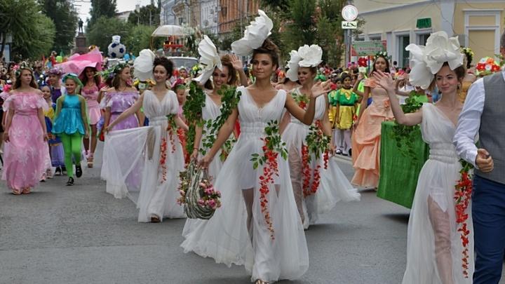 На фестиваль «Цветущая Самара» пришли посмотреть20 000 человек