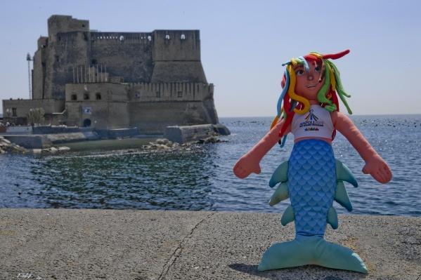 Универсиада в Неаполе пройдёт с 3 по 14 июля— символом Студенческих игр стала русалка