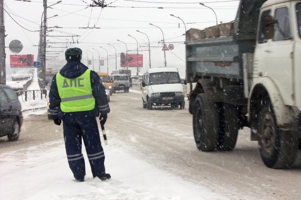 В новогодние праздники водители часто превышали скорость и перевозили детей с нарушением требований безопасности
