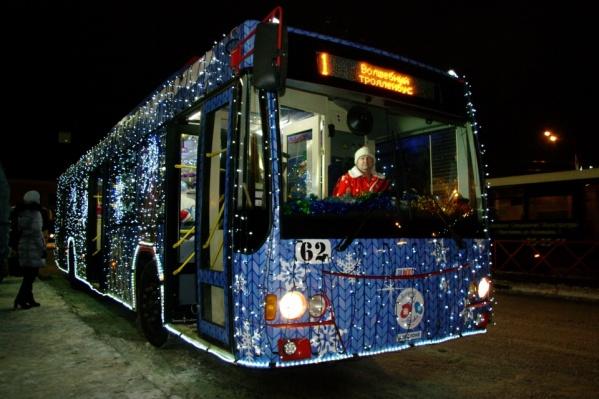 «Волшебный троллейбус» поедет по маршруту Ярославль Главный — площадь Волкова и обратно