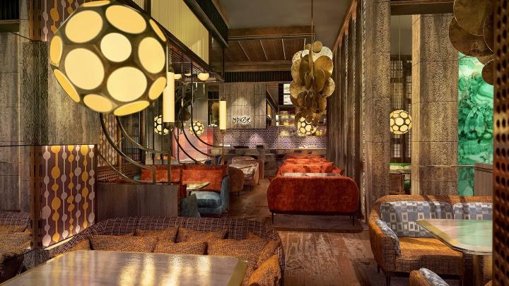"""Два этажа и караоке: рядом с """"Тихвином"""" в середине мая откроется московский ресторан"""