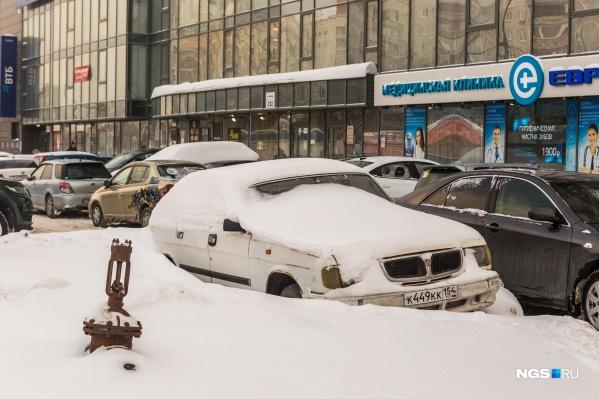 «Волга» на Фрунзе