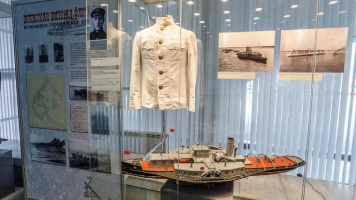 «Немцы боялись их, как огня»: в Волгограде открылась выставка кораблей, переживших две войны