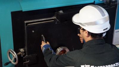 На третьем участке ЗАО «Лесозавод 25» начался монтаж дополнительной сушильной камеры Valutec