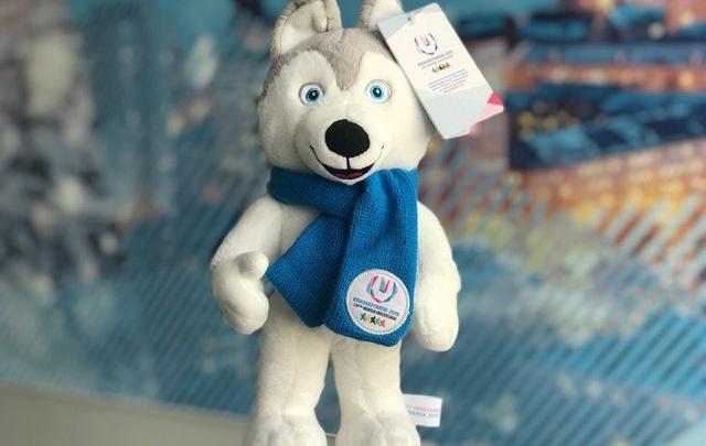 Мягкие игрушки — символ Универсиады начали продавать за 1500 рублей