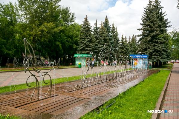 До октября в парке снесут 42 сооружения
