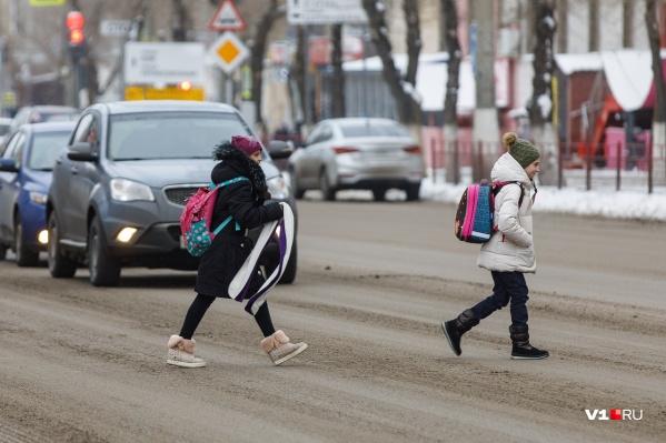 В Волгограде ученики из 54 классов в 13 школах ушли на больничный