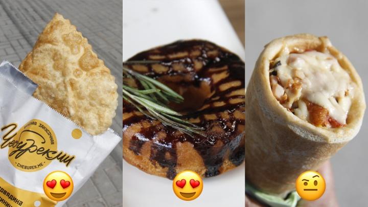 Чебуреки с бананом, а пончики с лососем: 8 новых видов уличной еды, которые вы точно не пробовали