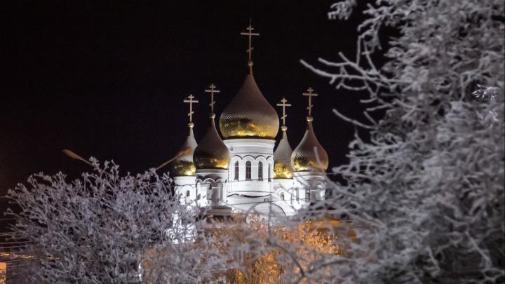 Игорь Орлов рассказал, что Михайловский собор в Архангельске планируют достроить к весне 2020 года