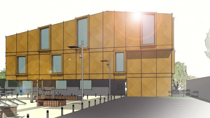 На месте снесённых мастерских художников на Высотной построят новые студии и дом