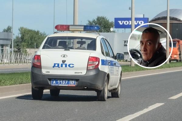 Ринат Черемных считает, что наряд ДПС решил ему отомстить