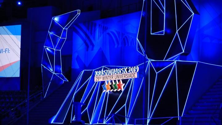 Второй день Универсиады: фейерверк у «Платинум Арены»