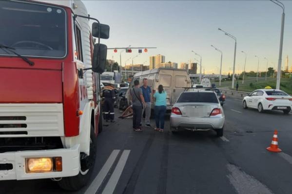 В аварии на Бельском мосту погиб 39-летний мужчина