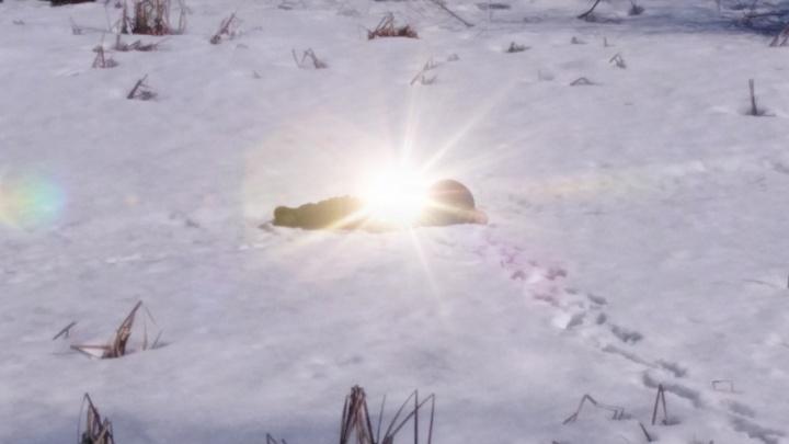 В Кунгуре на льду озера нашли тело мужчины