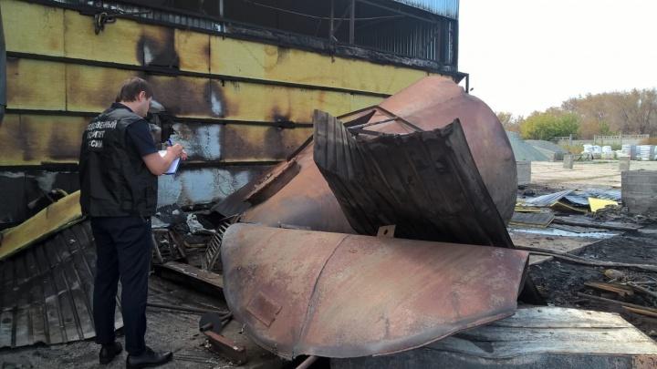 Следователи нашли виновника смертельного пожара на территории бывшего завода«Куйбышевфосфор»
