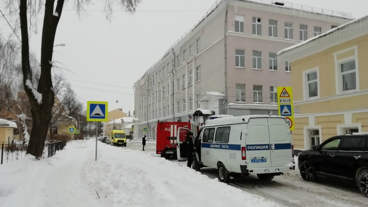 Не только школа, но и больницы: вторая волна эвакуаций прошла в Ярославле. Онлайн-трансляция