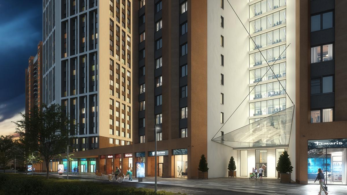 Сдача первого дома «Татлина» запланирована на III квартал 2020 года