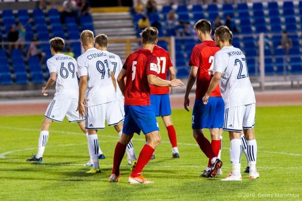 Накануне матч «Волгарь» — СКА завершился поражением «армейцев»