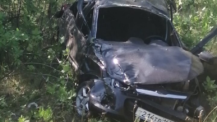 Водителю оторвало руку: на трассе под Самарой «Гранта» вылетела в кювет