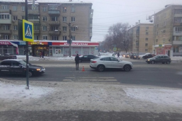 Автомобилист не пропустил пешехода на «зебре»