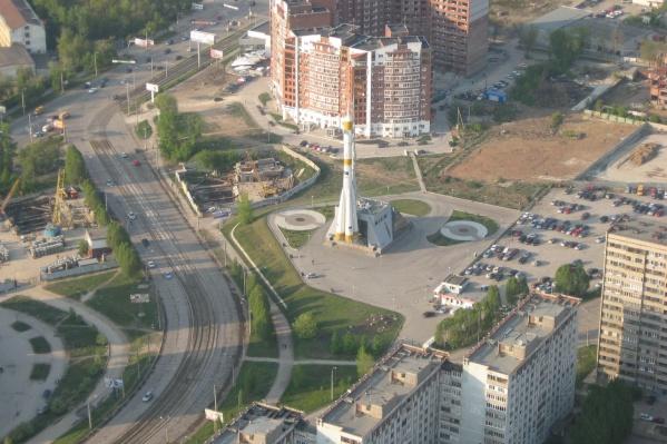 Проспект Ленина в Самаре украсит еще один арт-объект