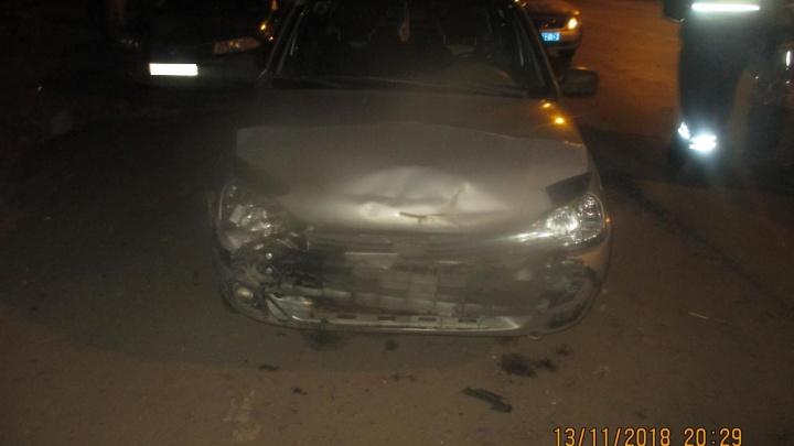 Он был неадекватен: в Рыбинске водитель на «Ладе» смял зад «Мазде»