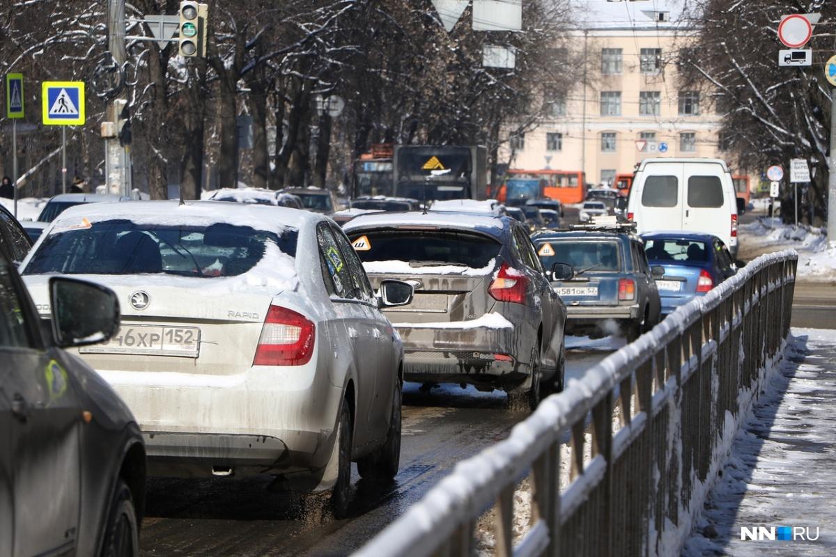По данным аналитиков, в Нижнем Новгороде не такие уж страшные заторы