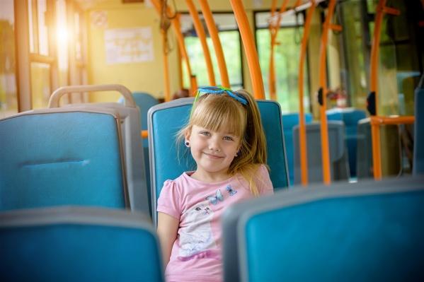 Начиная со второго–третьего класса школьники пользуются общественным транспортом без помощи взрослых