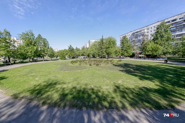 Сквер на улице Красного Урала долгие годы ждал полноценного благоустройства