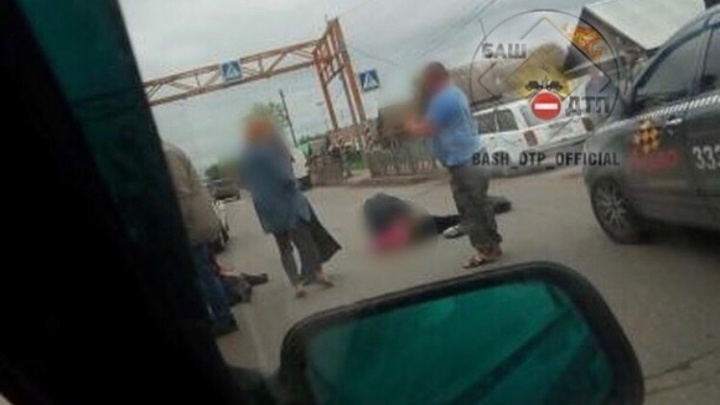 В Башкирии сбили 12-летнюю девочку, она переходила дорогу по пешеходному переходу