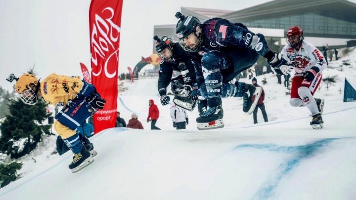 На Уктусе построят трассу для скоростного спуска на коньках, на которой можно разгоняться до70 км/ч