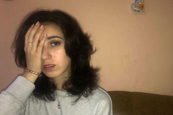 Аня осталась без глаза