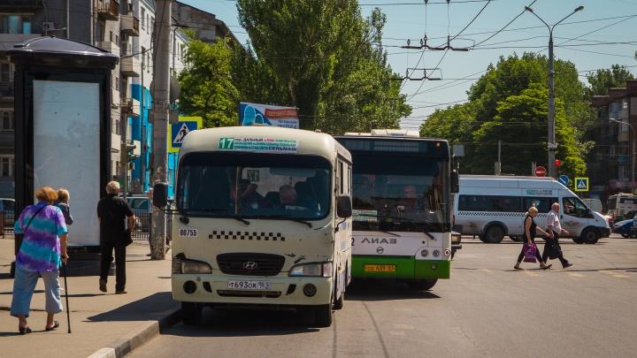 Льготы есть: водители ростовских маршруток вешают в салонах незаконные объявления