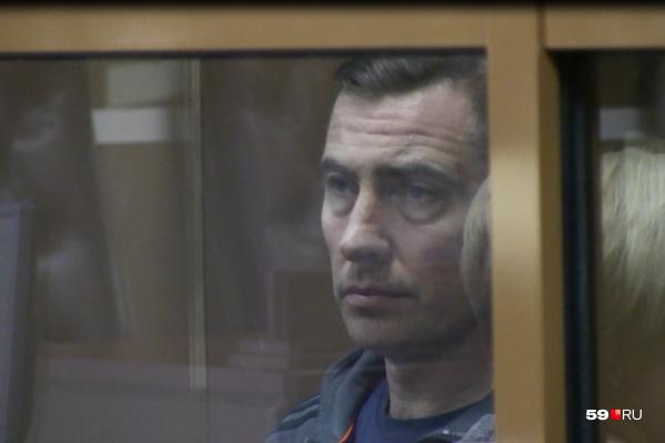 Вадим Востоков на заседании суда