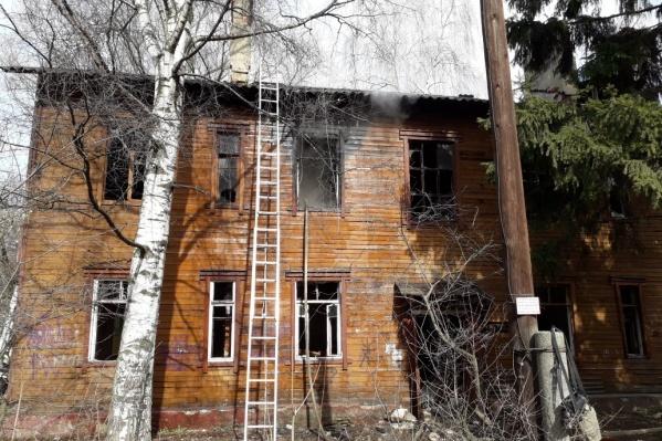 Эти здания горят уже не впервые