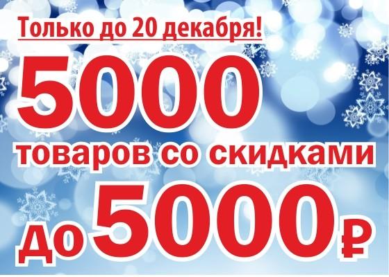 5 000 лучших товаров со скидками ждут своих покупателей на nord24.ru