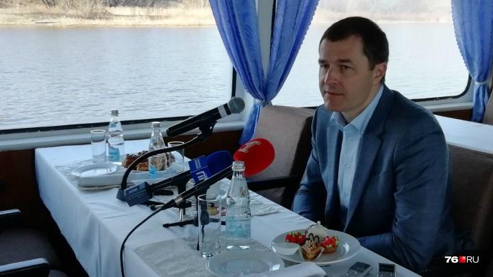 «Я приехал надолго и уезжать не собираюсь»: мэр Ярославля поделился мнением о зарплатах