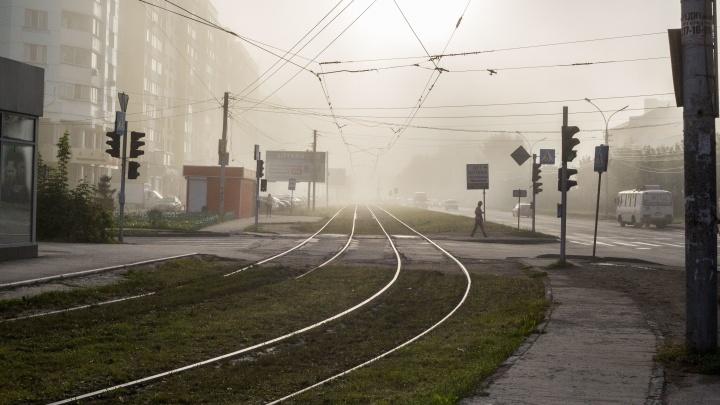Видимость до 100 метров: туман задержится в Новосибирске надолго