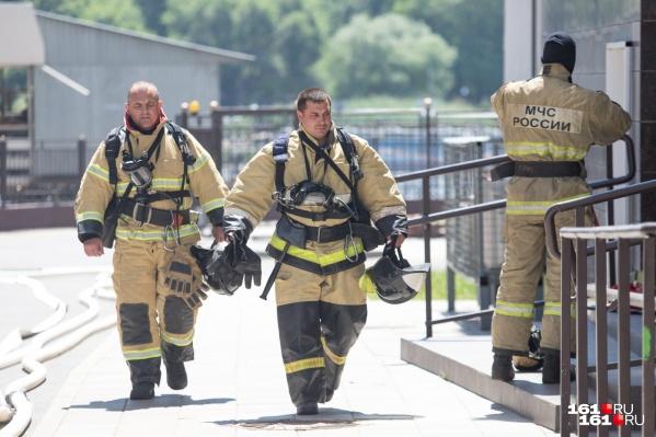Пожара из-за взрыва в гараже не было