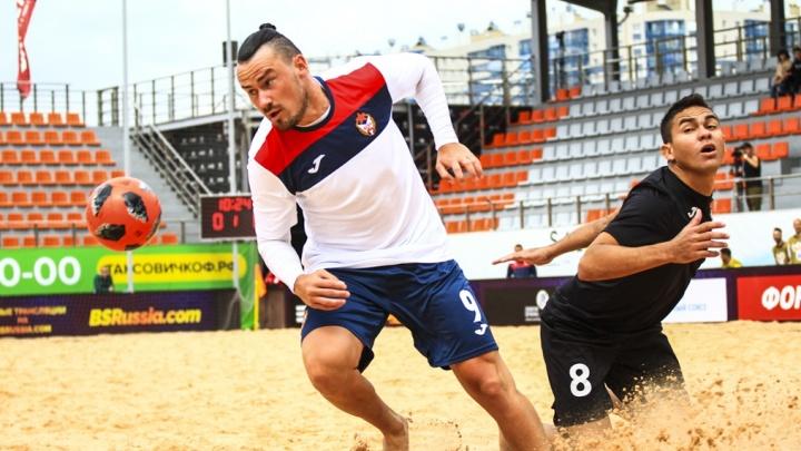 Появилось расписание игр пляжных «Крыльев Советов» на третьем этапе Суперлиги в Москве