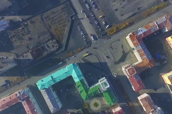 Жители Норильска сняли с квадрокоптера красоты своего города и его окрестностей