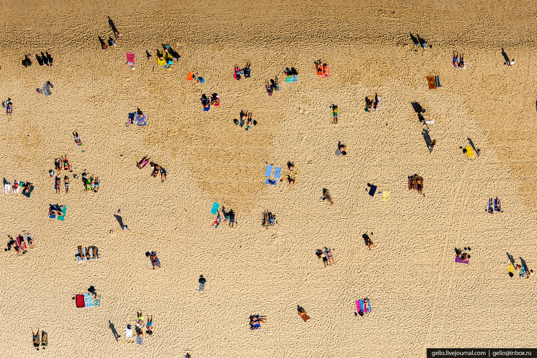 Ясная и солнечная погода стоит в Сиднее 340 дней в году, а среднегодовая температура колеблется от +18 до +26 °C. Как и во всём Южном полушарии, времена года здесь прямо противоположны европейским, поэтому самый тёплый месяц — январь (26,8 °C), а самый холодный — июль (17,2 °C)
