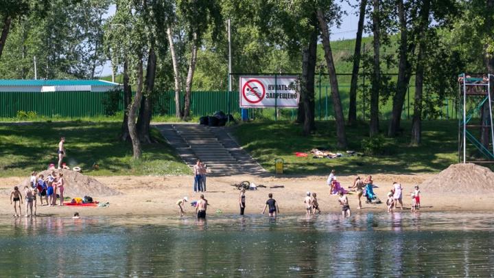 За разрешением на открытие до сих пор не обратился ни один пляж Красноярска